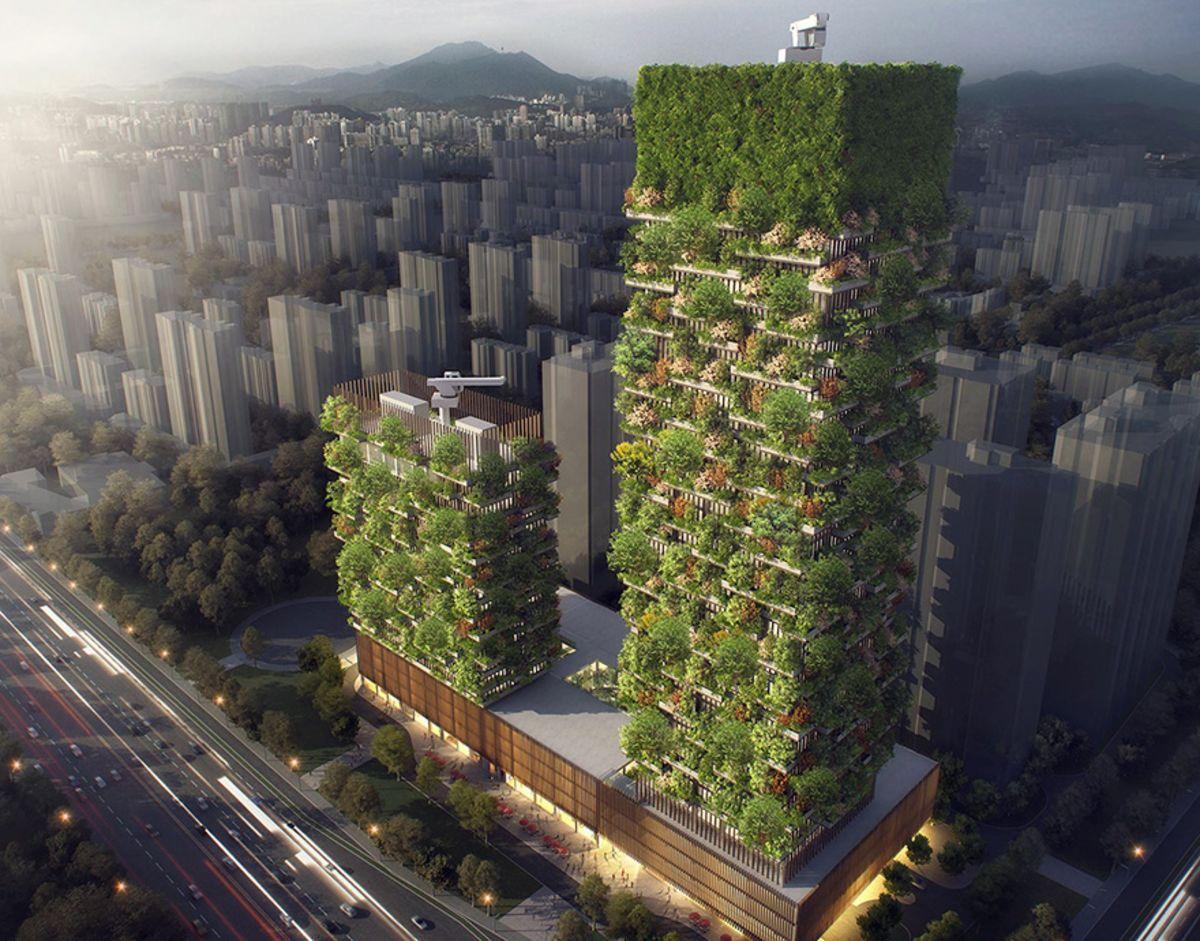7 forêts verticales à habiter