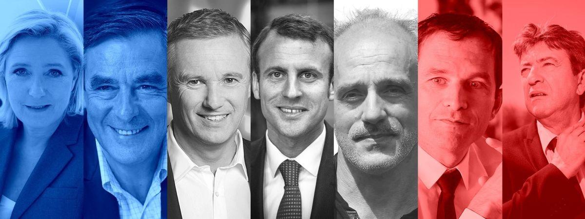 Présidentielle : les candidats chouchous des médias (et les tricards)