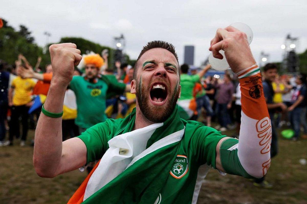 7 raisons d'applaudir les supporters irlandais