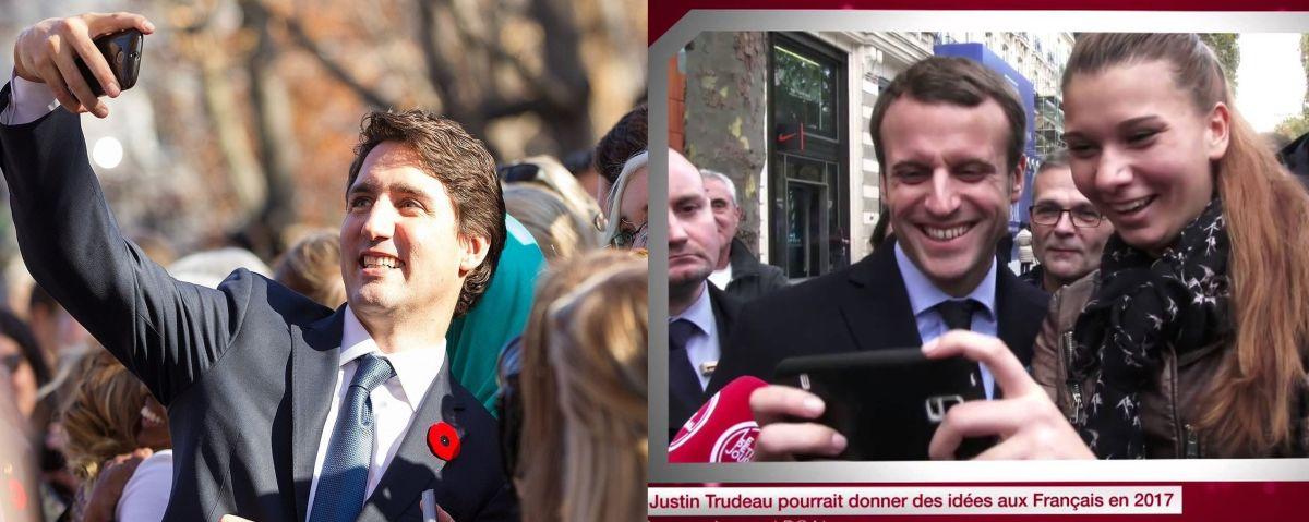 Emmanuel Macron est-il le Justin Trudeau français ?