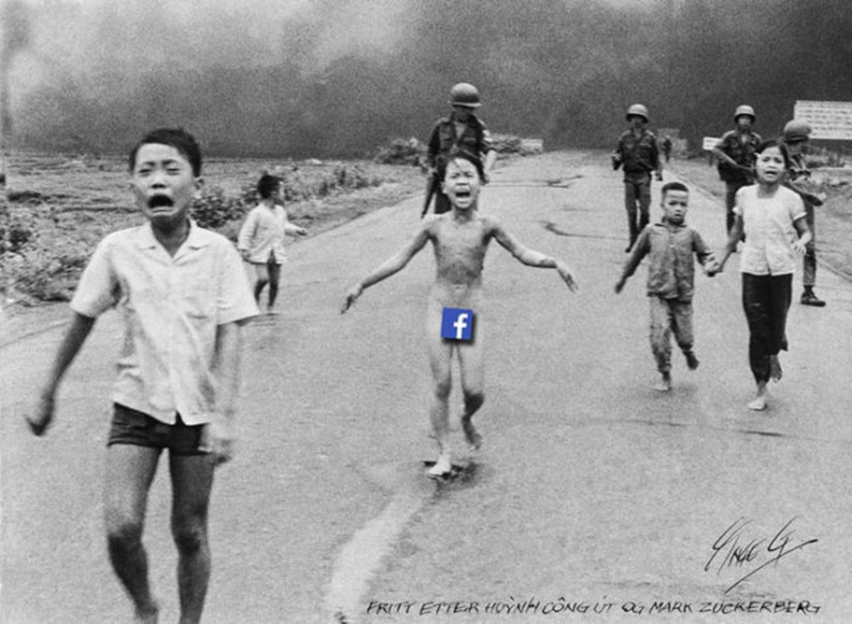 7 images censurées par Facebook