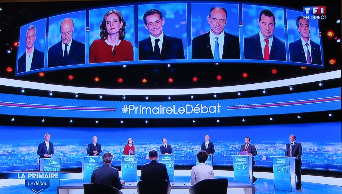 Le débat de la primaire de la droite en 7 punchlines (décryptées)