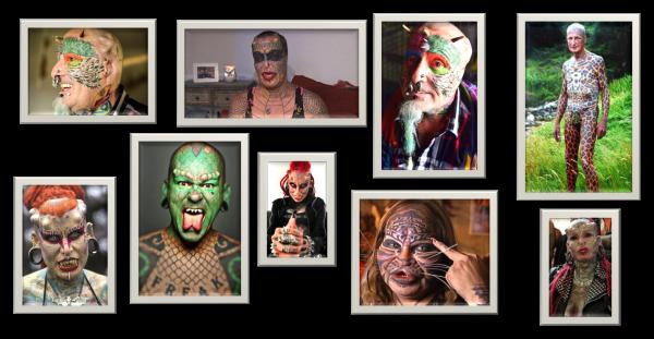 7 looks d'Enfer sur Pinterest