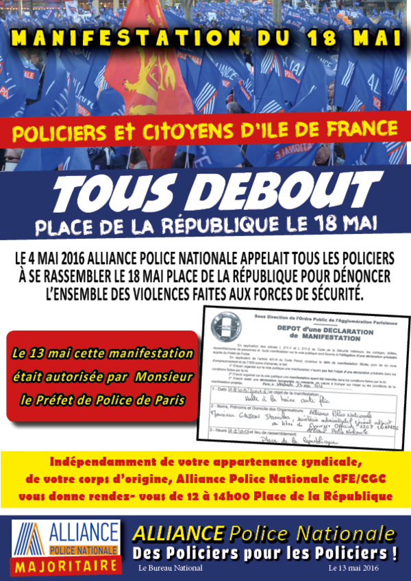 Alliance Police Nationale : comment se taper l'affiche