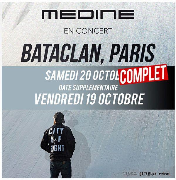 7 questions sur le concert de Médine au Bataclan