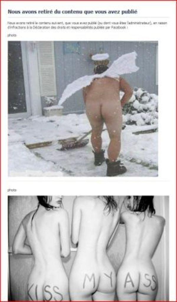 7 images censurées par Facebook