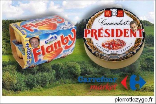 Présidentielle : il y a de quoi en faire tout un fromage !