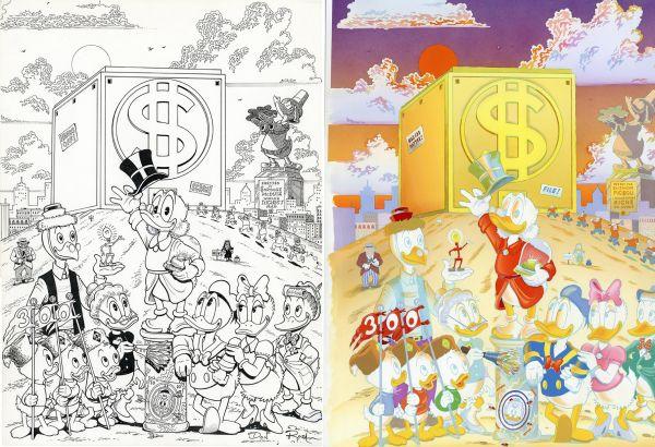 BD : 7 formidables dessins originaux aux enchères
