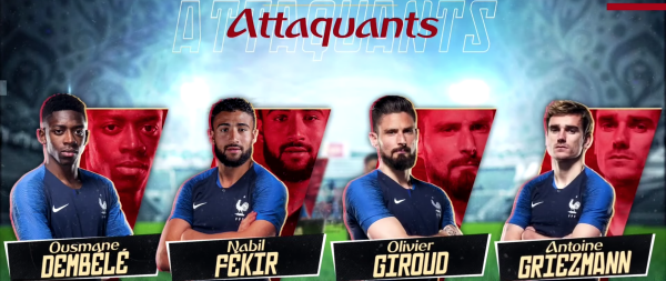 Equipe de France de Football : 1 liste et 7 questions