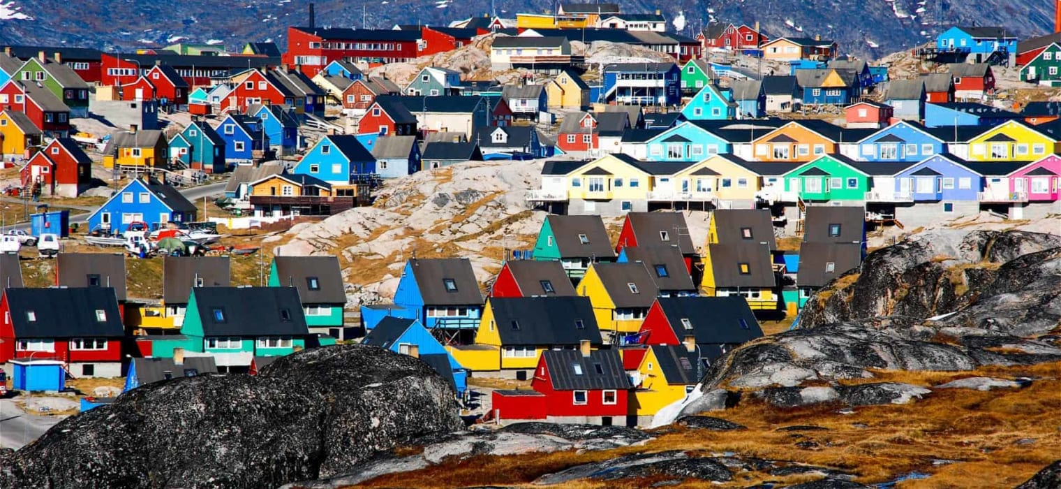 Ilulissat West Greenland ice fjords