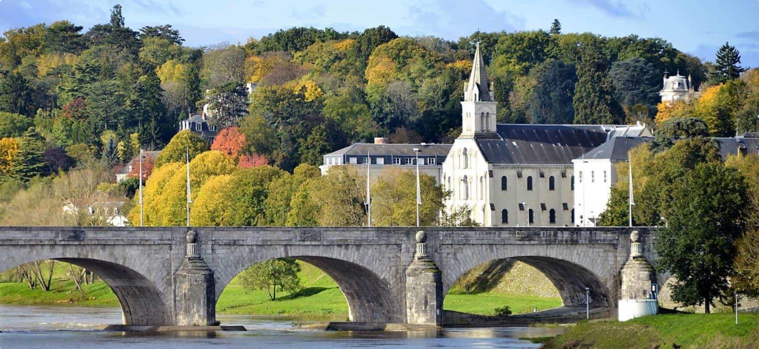 Loire Valley, Bridge in France
