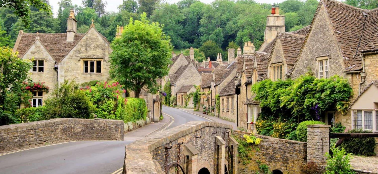 Cotswold village, England