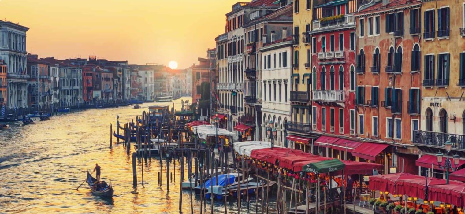 Grand Canal, Venice, Italy, Gondola