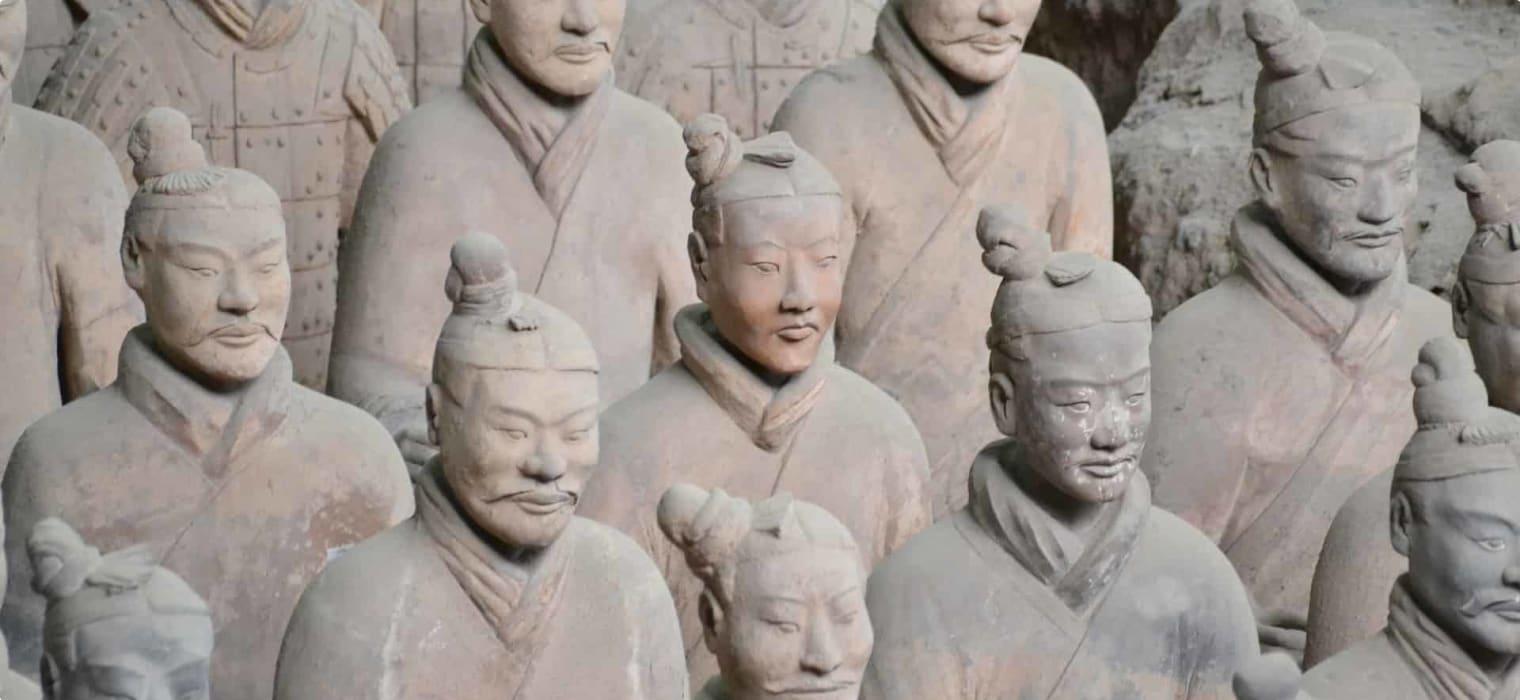 China, Terracotta Warriors in Xian