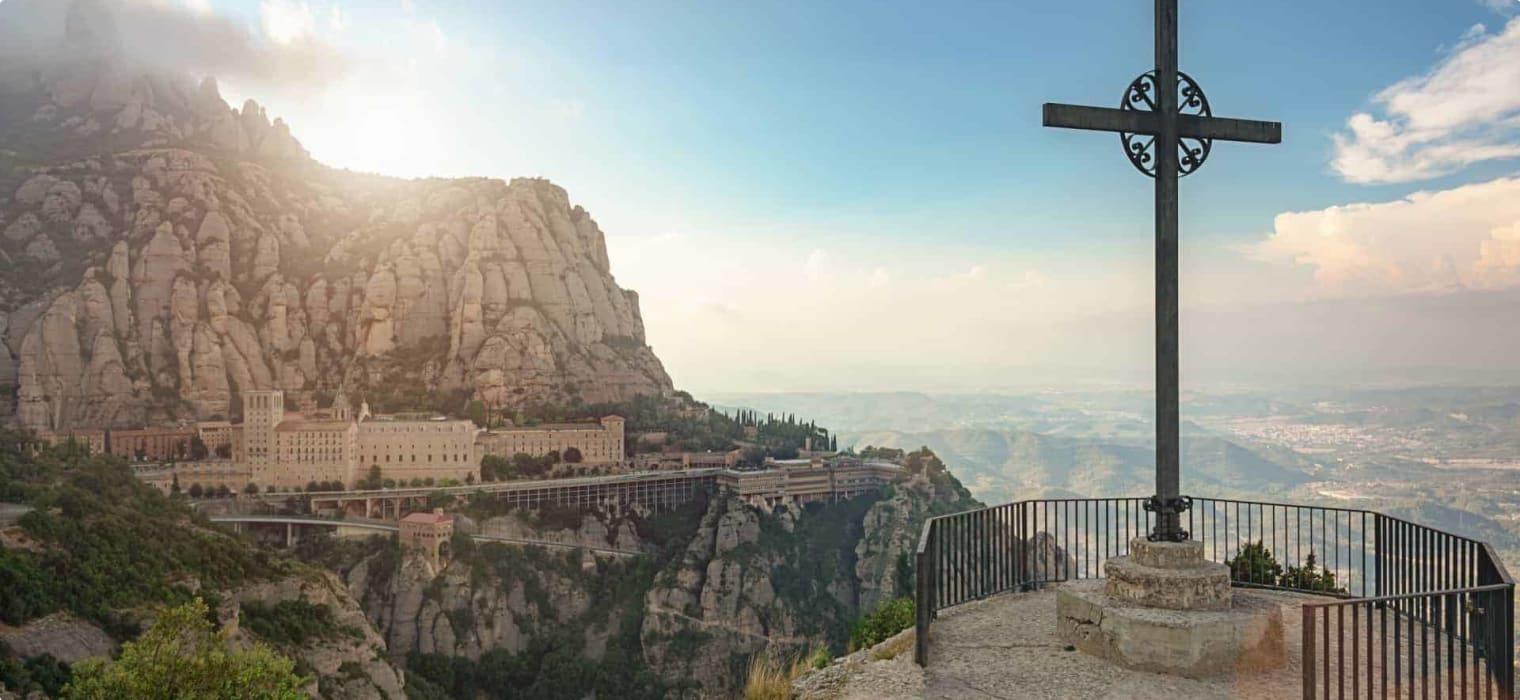 Montserrat Mountain Catalonia, Spain.