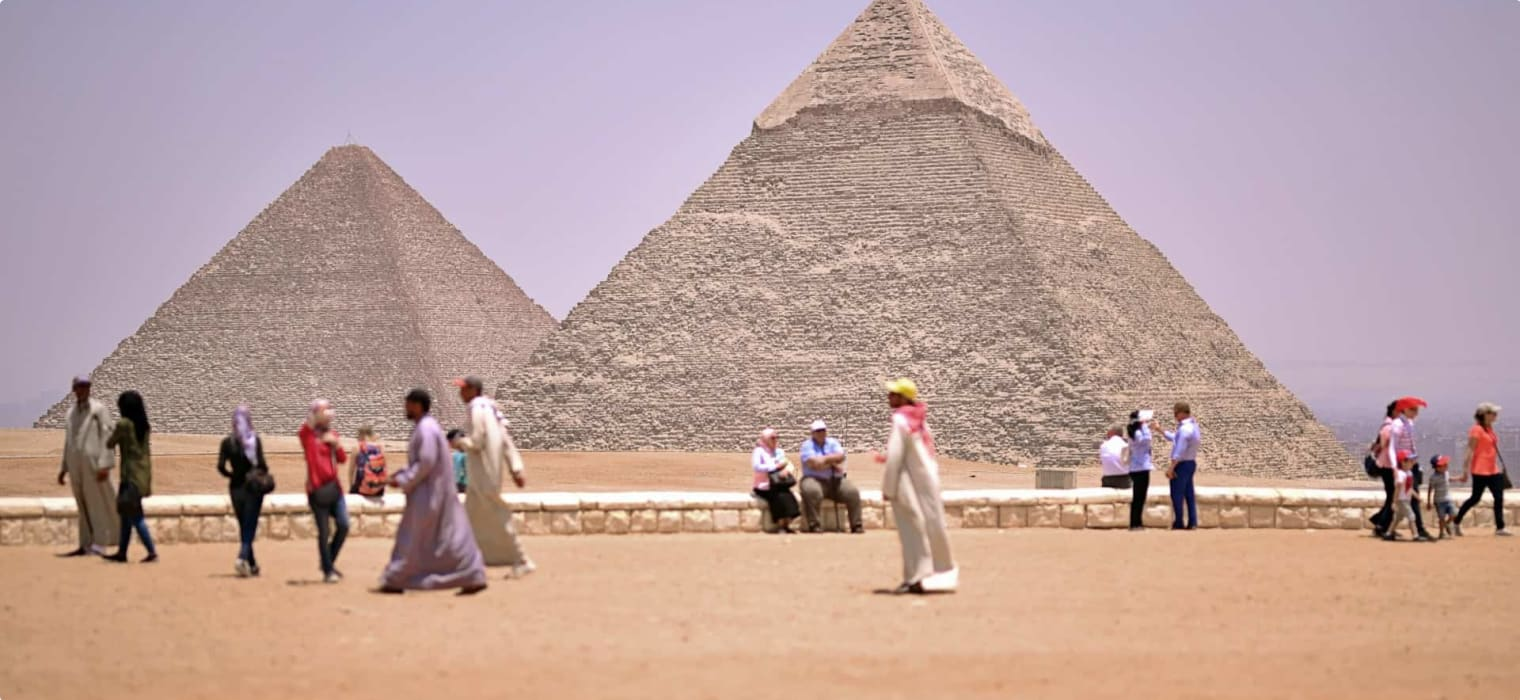 Highlights of Egypt: The Pyramids and the Sphinx
