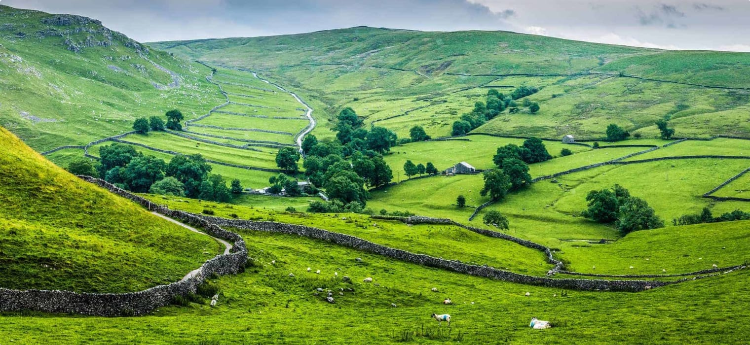 Dry Stone Walls Across the Yorkshire Dales