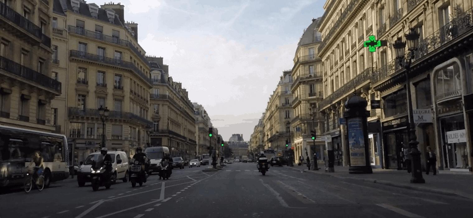 Hausmann designs Paris