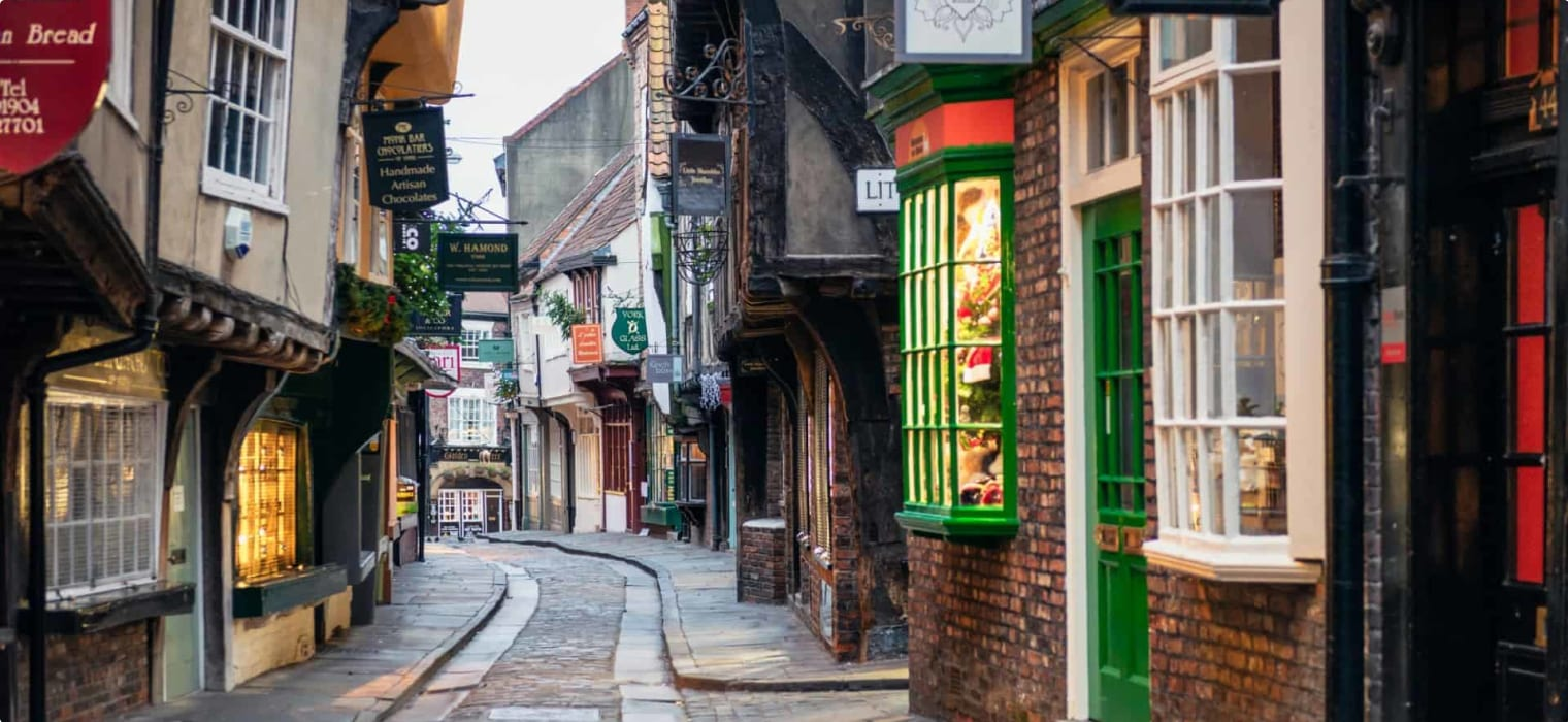 The Shambles York England