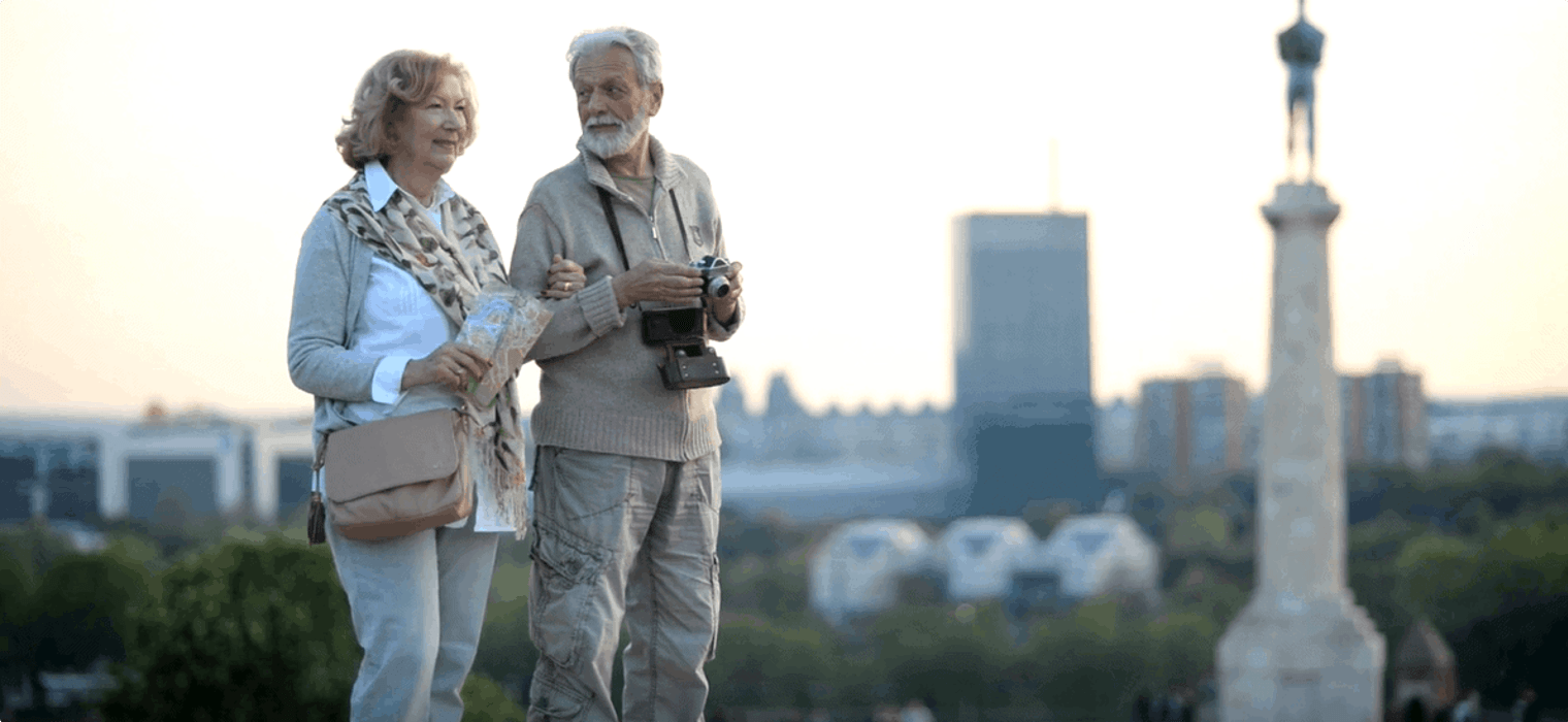 Older travellers advice for seniors 70's and over