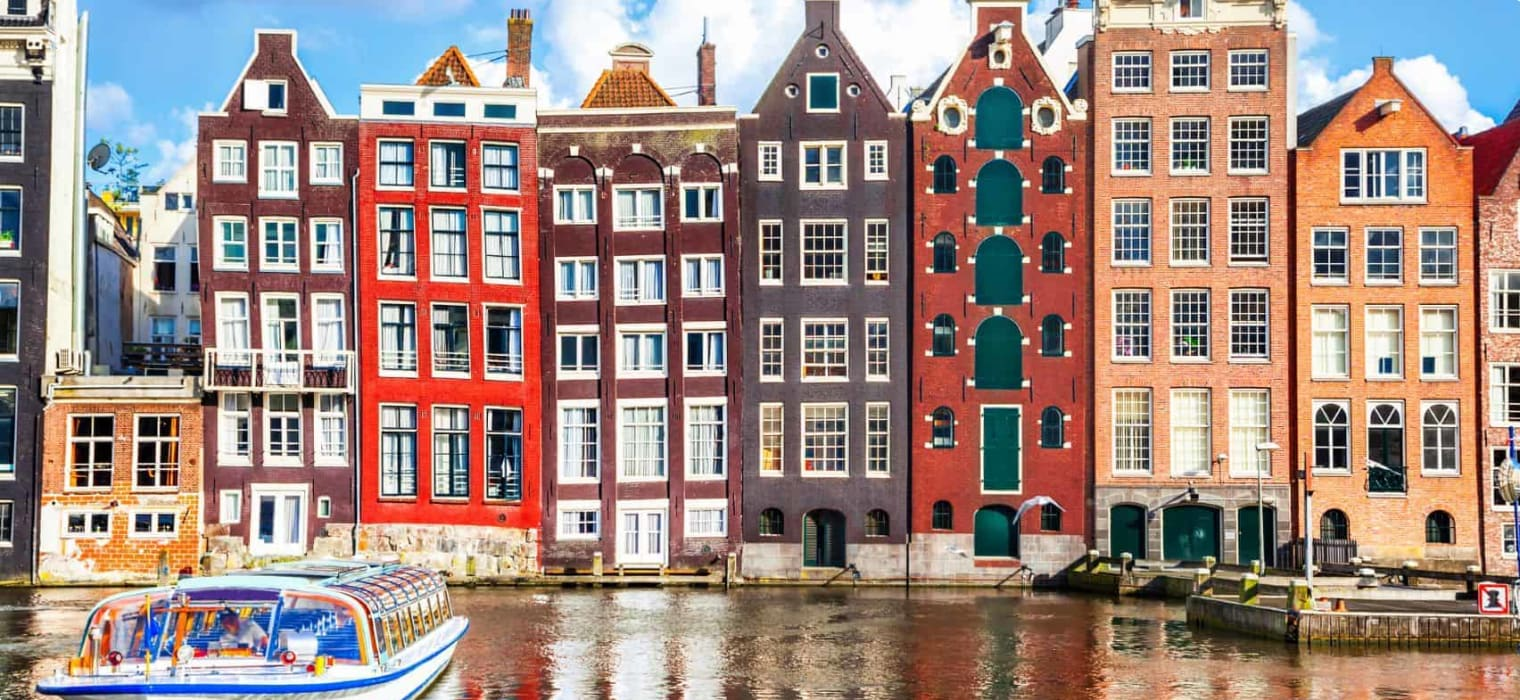 Houses in Amsterdam The Netherlands