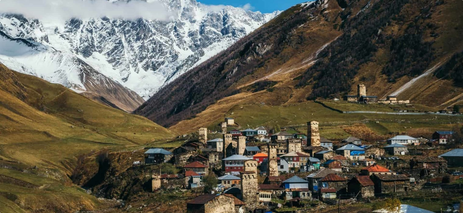 History and Legend in the Landscapes of Georgia