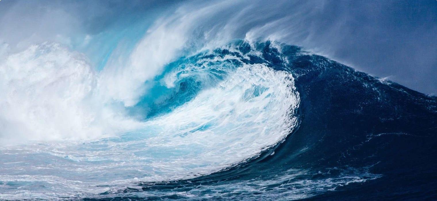 Wave Atlantic Ocean