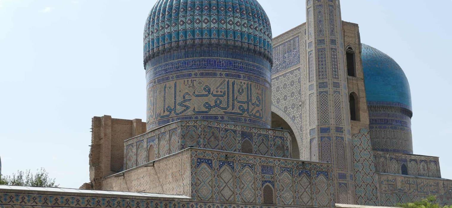 Bibi Khanum Mosque Samarkand, Uzbekistan samarkand-4689082_1920