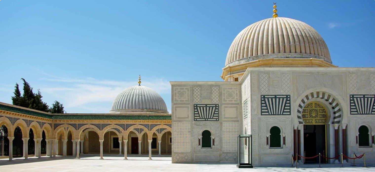 Habib Bourguiba Mausoleum Tunisia