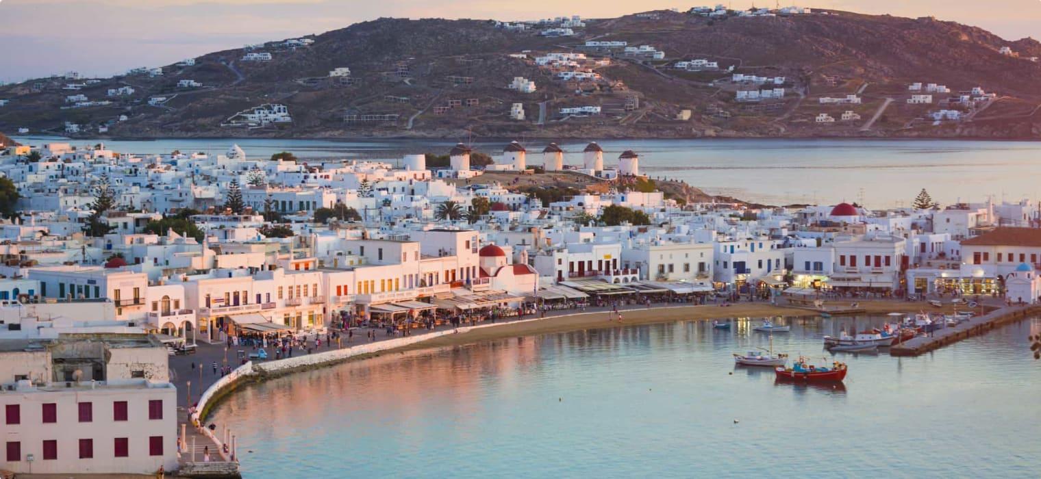The History of Mykonos