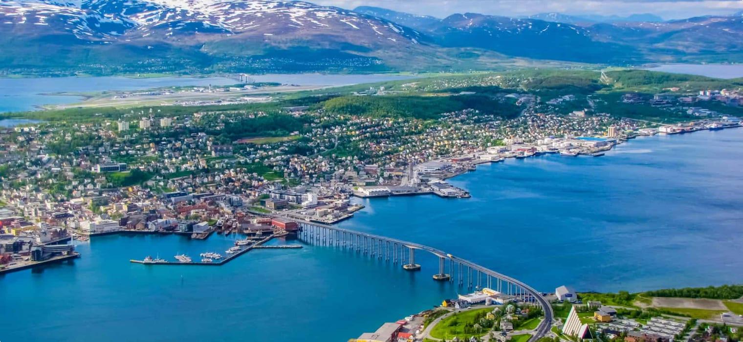 Tromso cable car