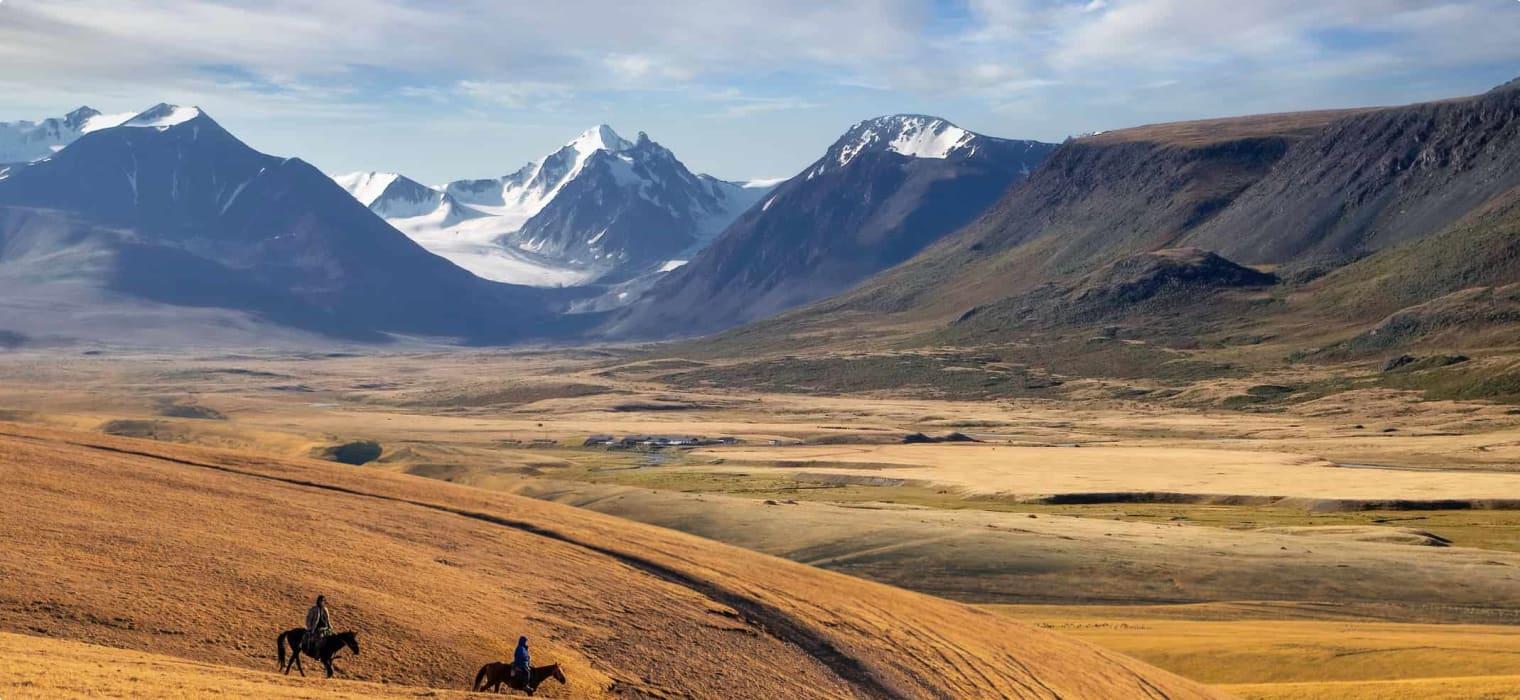 Kazakh Steppe, Kazakhstan