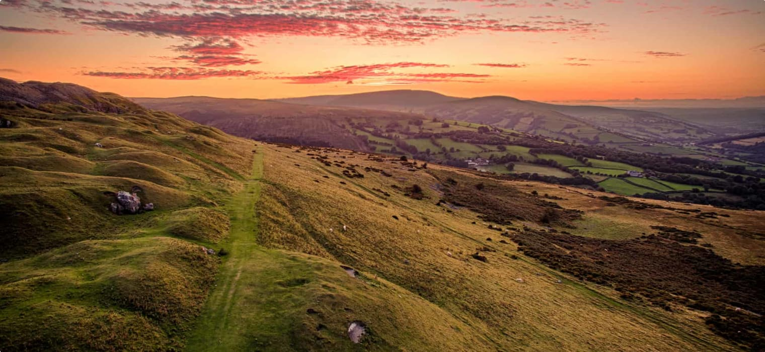 Discovering Crickhowell, Wales