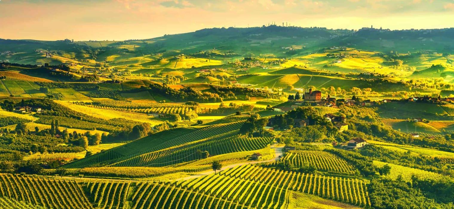 Grinzane Cavour, Unesco Site, Piedmont, Northern Italy Europe.