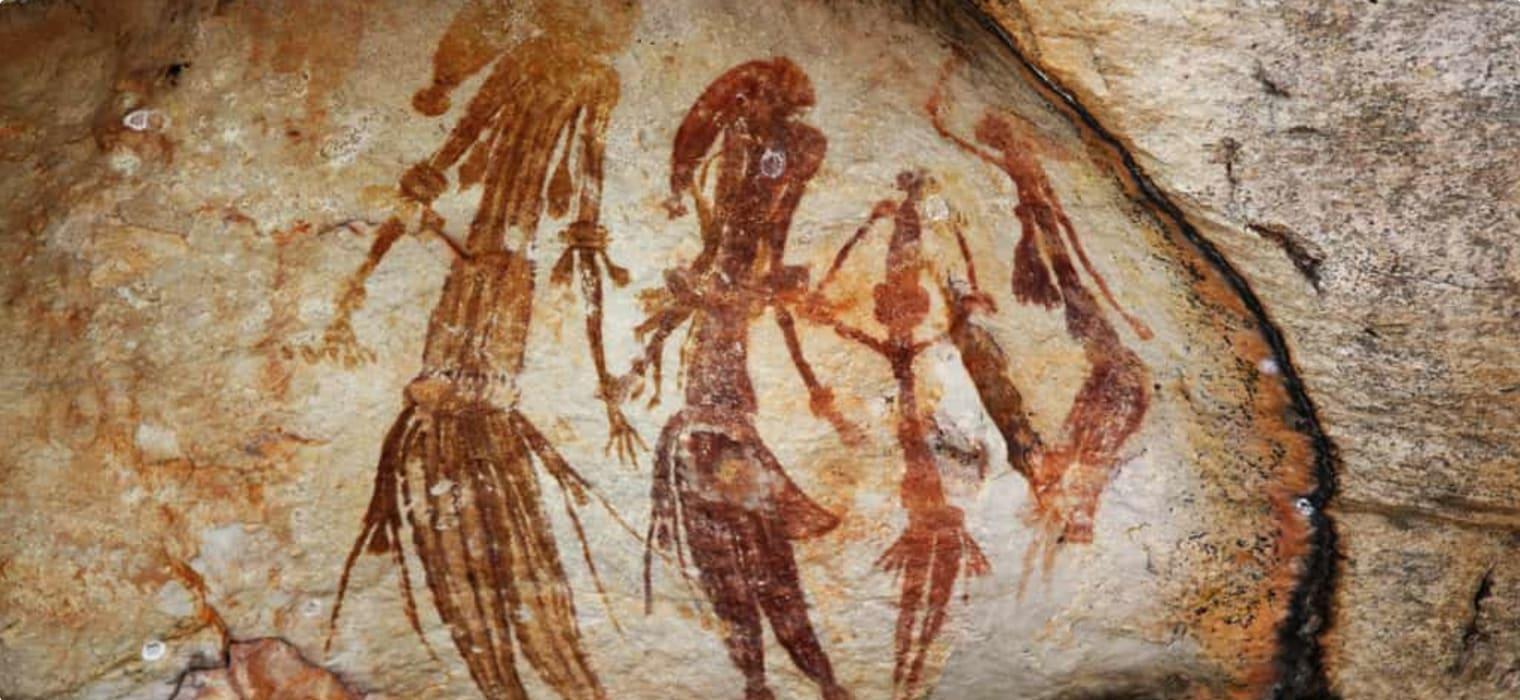 Gwion Gwion Rock Art (Bradshaw Paintings)