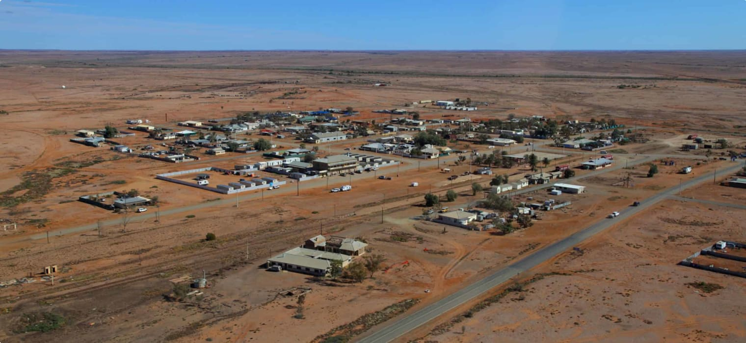 Marree a view from above