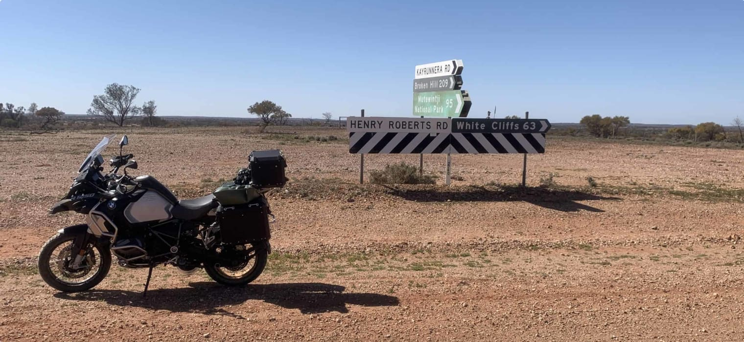 Guided small group motorcycle tour of World Heritage sites in Victoria and South Australia