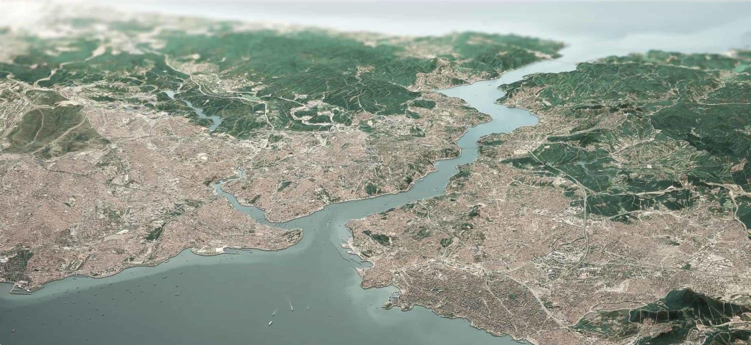 The Bosporus and the Black Sea