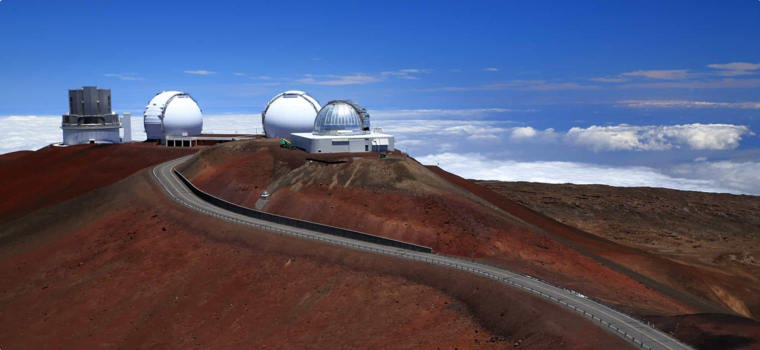 Atmospheric Measurements at Mauna Lao & Cape Grim