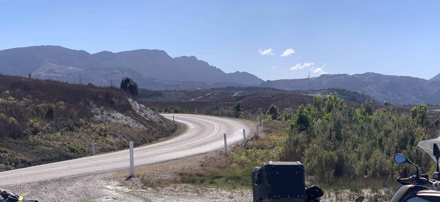 Road to Queenstown Tasmania