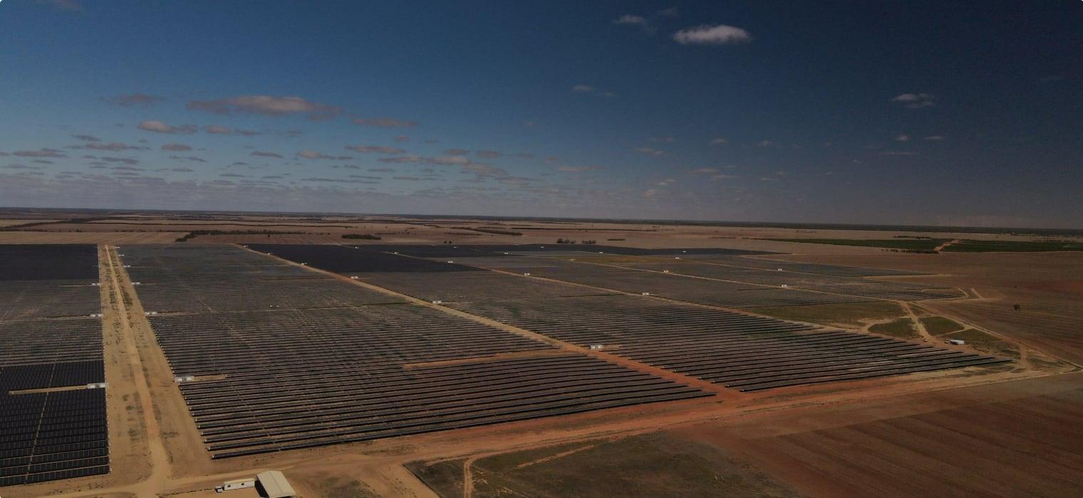 Baranald solar power station