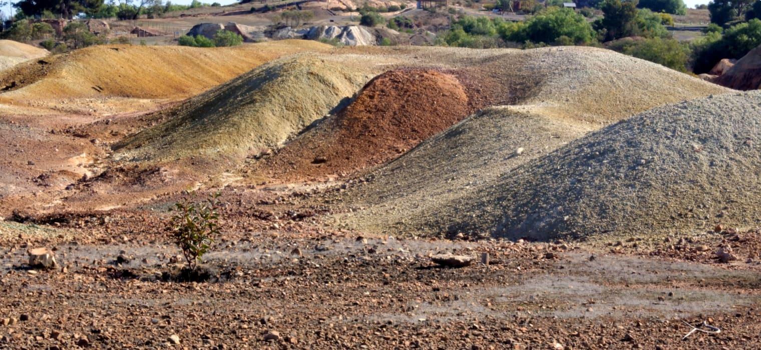 19th Century South Australian Copper Triangle