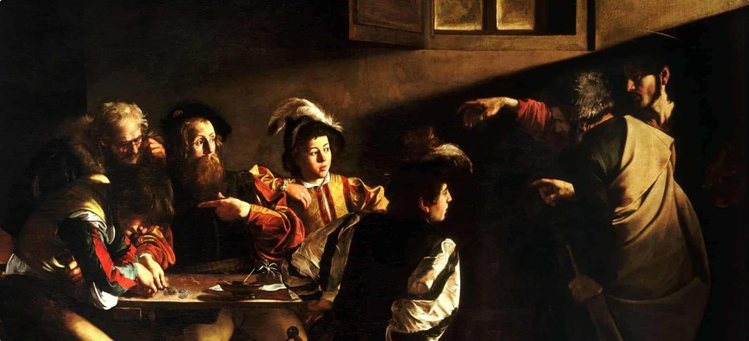 Caravaggio's The Calling of Saint Matthew wiki