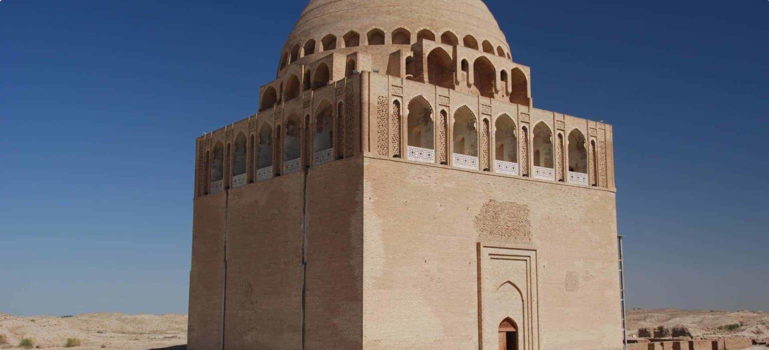 Mausoleum of Sultan Sanjar in Merv