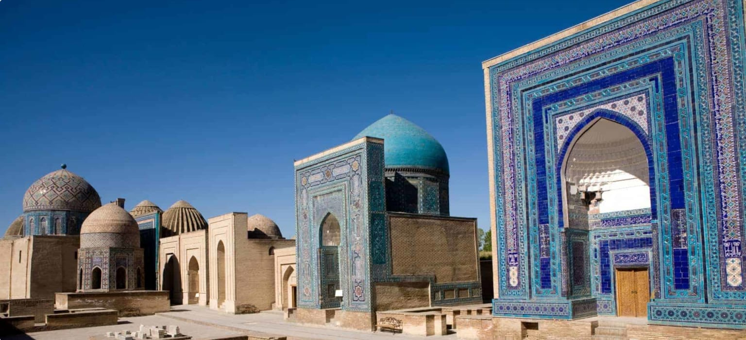 Samarkand, avenue of tombs-Shahr-I-Zindah, Uzbekistan