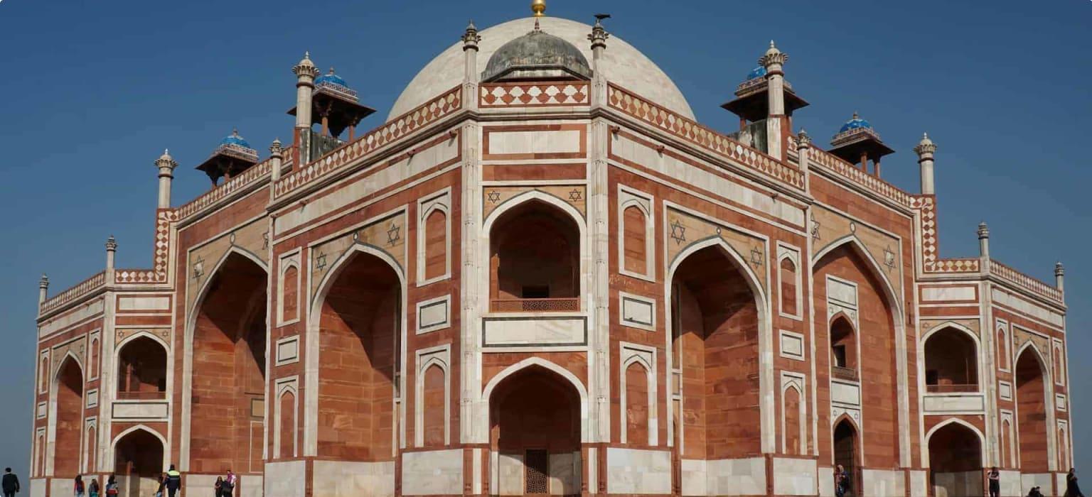 Humayan's Tomb in Delhi
