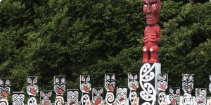New Zealand Maori carvings