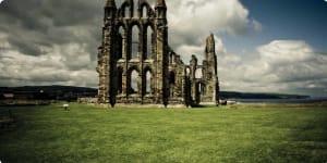 Whitby Abbey walking britain