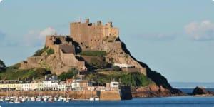 Castle, Gorey - England, Jersey - England, France, Grouville
