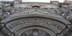 Florence Cathedral Basilica Santa Maria del Fiore detail